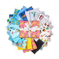 Kaufman Fat Quarter Bundles Hello Lucky! 21 Pcs