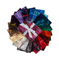 Kaufman Fat Quarter Bundles Chromatic Trails 20 Pcs