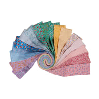 "Kaufman Southern Belles 2.5"" Roll Ups  Multi 40pcs"