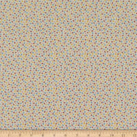 Kaufman Southern Belles Tiny Leaves Vintage