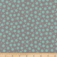 Kaufman Cozy Cotton Flannel Daisy Shadow