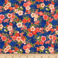 Kaufman Imperial Collection Metallic 15 Tiny Floral Spring