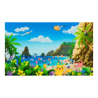 "Kaufman Pokemon Beach Theme 26"" Panel  Multi"