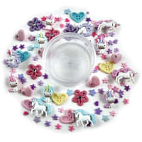 Dress it Up Embellishments Buttons Mythical Unicorns