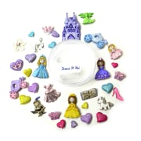 Dress it Up Embellishments Buttons Fairytale