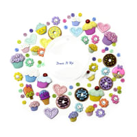 Dress it Up Embellishments Buttons Sweet Shop