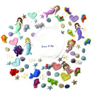 Dress it Up Embellishments Buttons Under The Sea