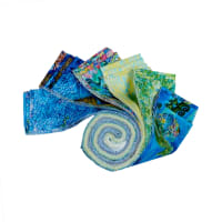 "Fabric Editions Mystic Ocean 2.5"" Strips, 24pcs."