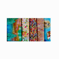Fabric Editions Wild And Whimsy Bundle, 5pcs.