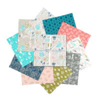 "Fabric Editions Little Thicket 10"" Charms, 20 pcs."