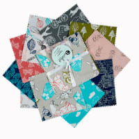 Fabric Editions Little Thicket 40Pc Small Charms