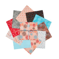 "Fabric Editions Siena 10"" Charms, 20 pcs."