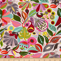 FreeSpirit Vibrant Blooms In the Woods Neutral