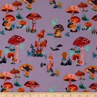 FreeSpirit Souvenir Beautiful Mushrooms Heather