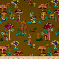 FreeSpirit Souvenir Beautiful Mushrooms  Army