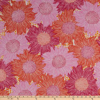 FreeSpirit Murmur Sunflower Pink