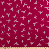 FreeSpirit Murmur Humming Birds Hot Pink