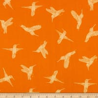 FreeSpirit Murmur Humming Birds Orange