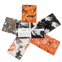 Fabric Editions Holiday Spooky Night Fat Quarter Bundle 5 Pcs