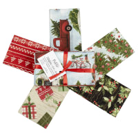 Fabric Editions Holiday Christmas Campers Bundle 5 Pc Christmas Campers