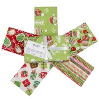 Fabric Editions Holiday Winter Woodland Fat Quarter Bundle 5 Pcs