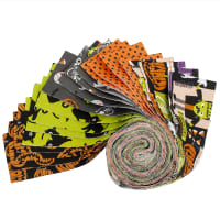 Fabric Editions Holiday Halloween Party Strip 20 Pcs