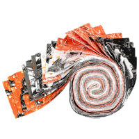 Fabric Editions Holiday Spooky Night Strip 20 Pcs