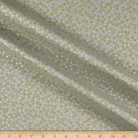 Fabric Editions Holiday Sparkle Glitter Dot Gold