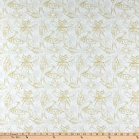 Andover Sun Print Light Flourish Chartreuse