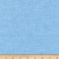 Kaufman Brussels Washer Linen Blend Yarn Dye Blue Jay