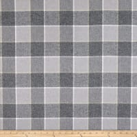 Kaufman Mammoth Flannel Platinum Large Plaid