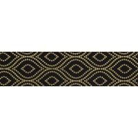 "1 1/2"" Offray Avalane (Roll, 25 yards) Black"