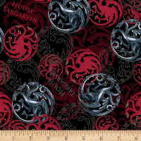 HBO Game Of Thrones House Targaryen Red