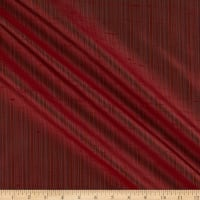 KasLen 100% Silk Drapery Deep Red