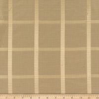 KasLen Plaid 100% Silk Tan