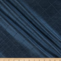 KasLen Pleated 100% Silk Navy