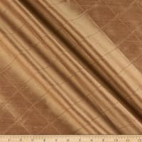 KasLen Pleated 100% Silk Taupe