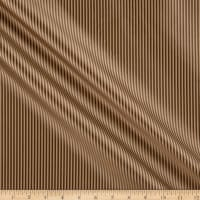 KasLen Thin Stripe 100% Silk Brown/Tan
