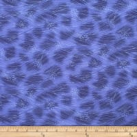 Trans-Pacific Textiles Asian Blender Momiji Leaf Navy