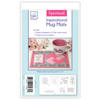 June Tailor Inspirational Mug Mats -- Spiritual