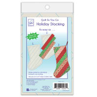 June Tailor Quilt As You Go Holiday Stocking -- one stocking pack