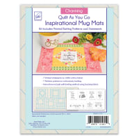June Tailor Quilt As You Go Inspirational Mug Mats Charming