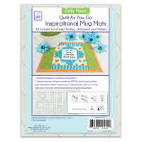 June Tailor Quilt As You Go Inspirational Mug Mats Daily Mews