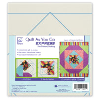 June Tailor Quilt As You Go Express  Square in a Square Quilt Pattern