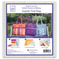 June Tailor Quilt As You Go Sophie Tote Bag