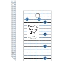 "June Tailor Binding Buddy 2 1/4"" Ruler"