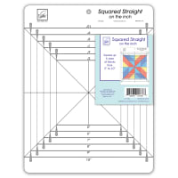 June Tailor Squared Straight on the inch Ruler