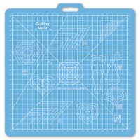 "June Tailor 23"" x 23"" Grid - Quilting Mate with Templates Mat"
