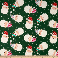 Alexander Henry Candy Cane Kringle Green