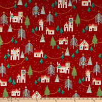 Alexander Henry Neighborhood Noel Red